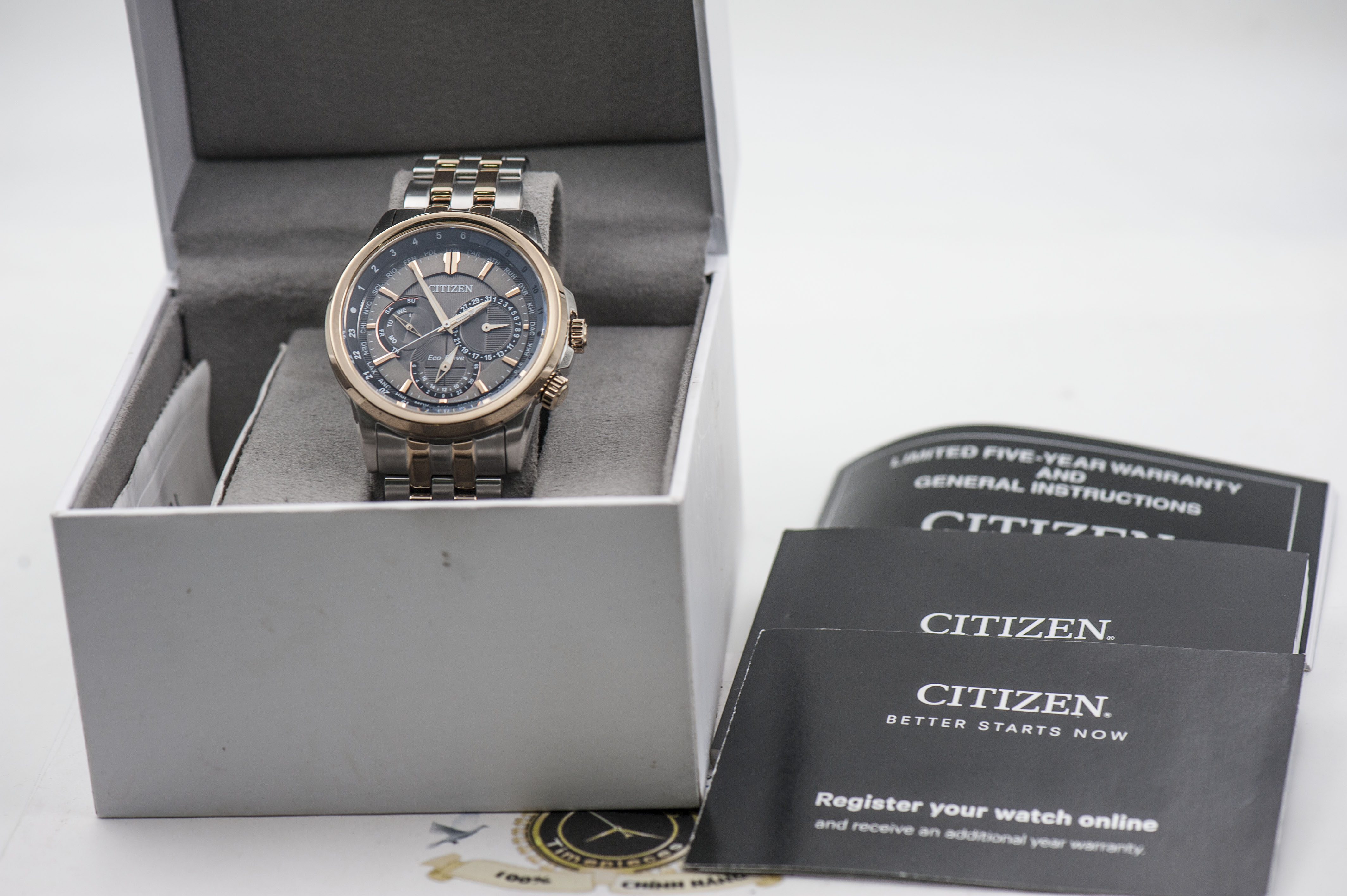Đồng Hồ Citizen Eco Drive (World Time)