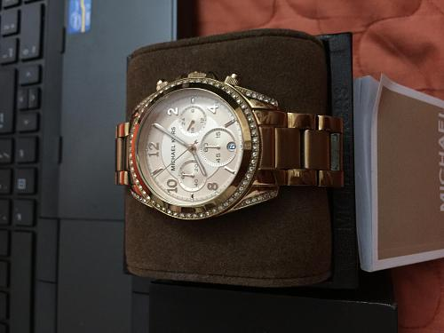 Michael Kors Blair Rose Gold-tone Chronograph Ladies Watch MK5263-img_3189.jpg