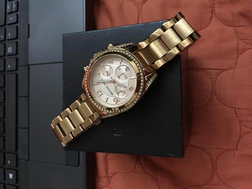 Michael Kors Blair Rose Gold-tone Chronograph Ladies Watch MK5263-img_3190.jpg