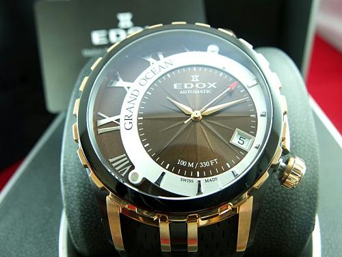 Edox Grand Ocean Automatic rose gold PVD rubber straps-img_1816.jpg