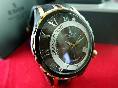 Edox Grand Ocean Automatic rose gold PVD rubber straps-img_1814.jpg