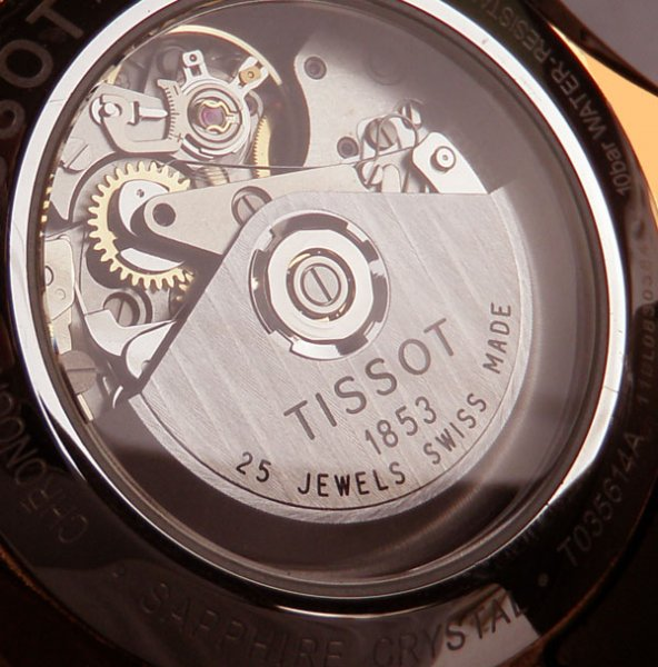 Đồng hồ Tissot Couturier Chronograph T035614A Automatic Swiss made