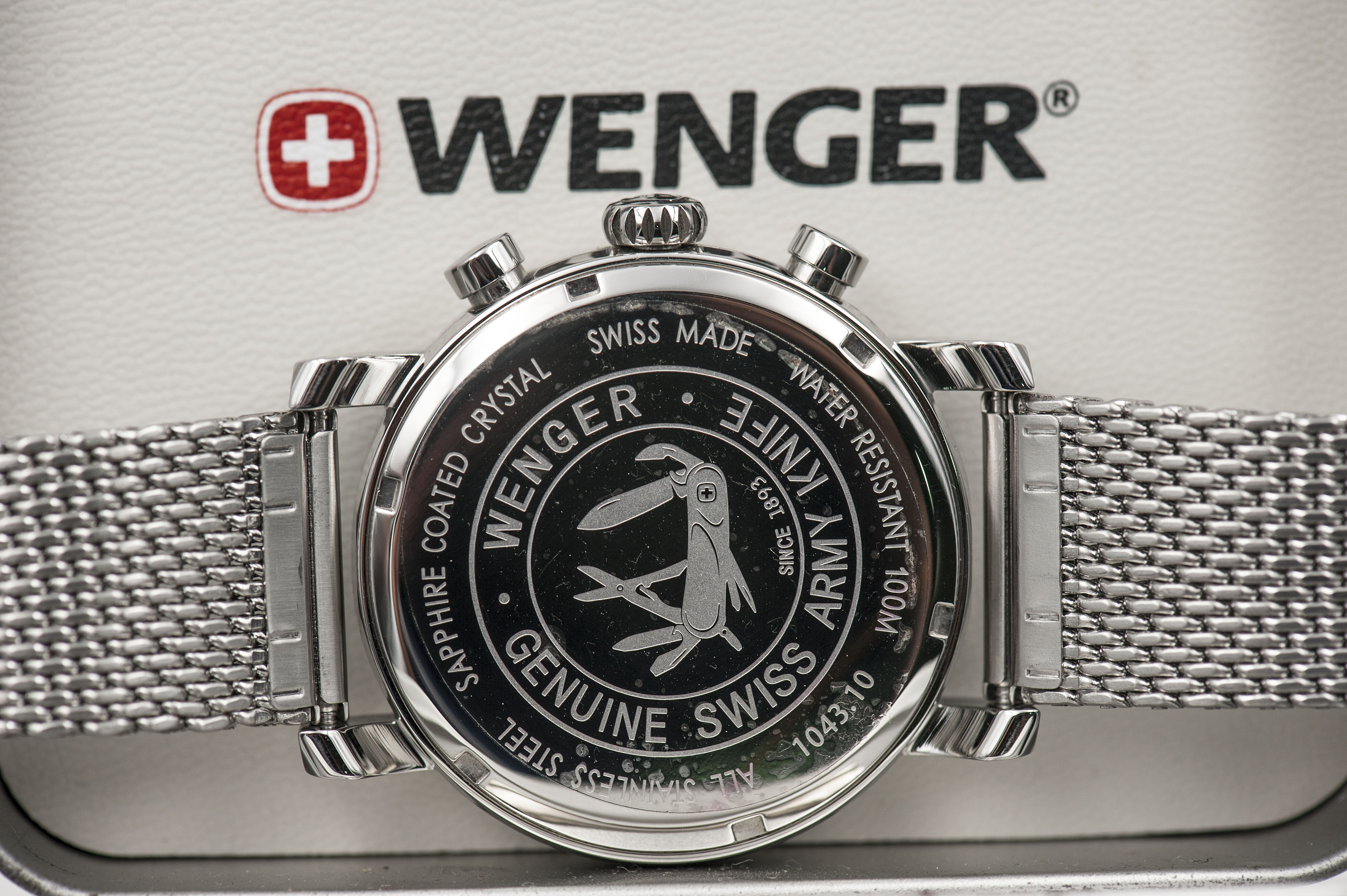Đồng Hồ Wenger Chronograph Army Knife