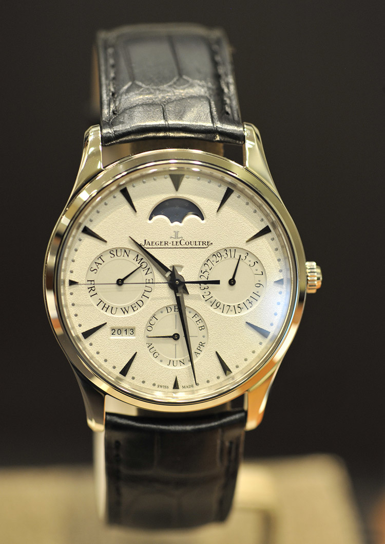 JAEGER LECOULTRE Master Ultra Thin Perpetual Calendar Automatic White Gold